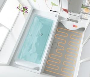 浴室 床暖房