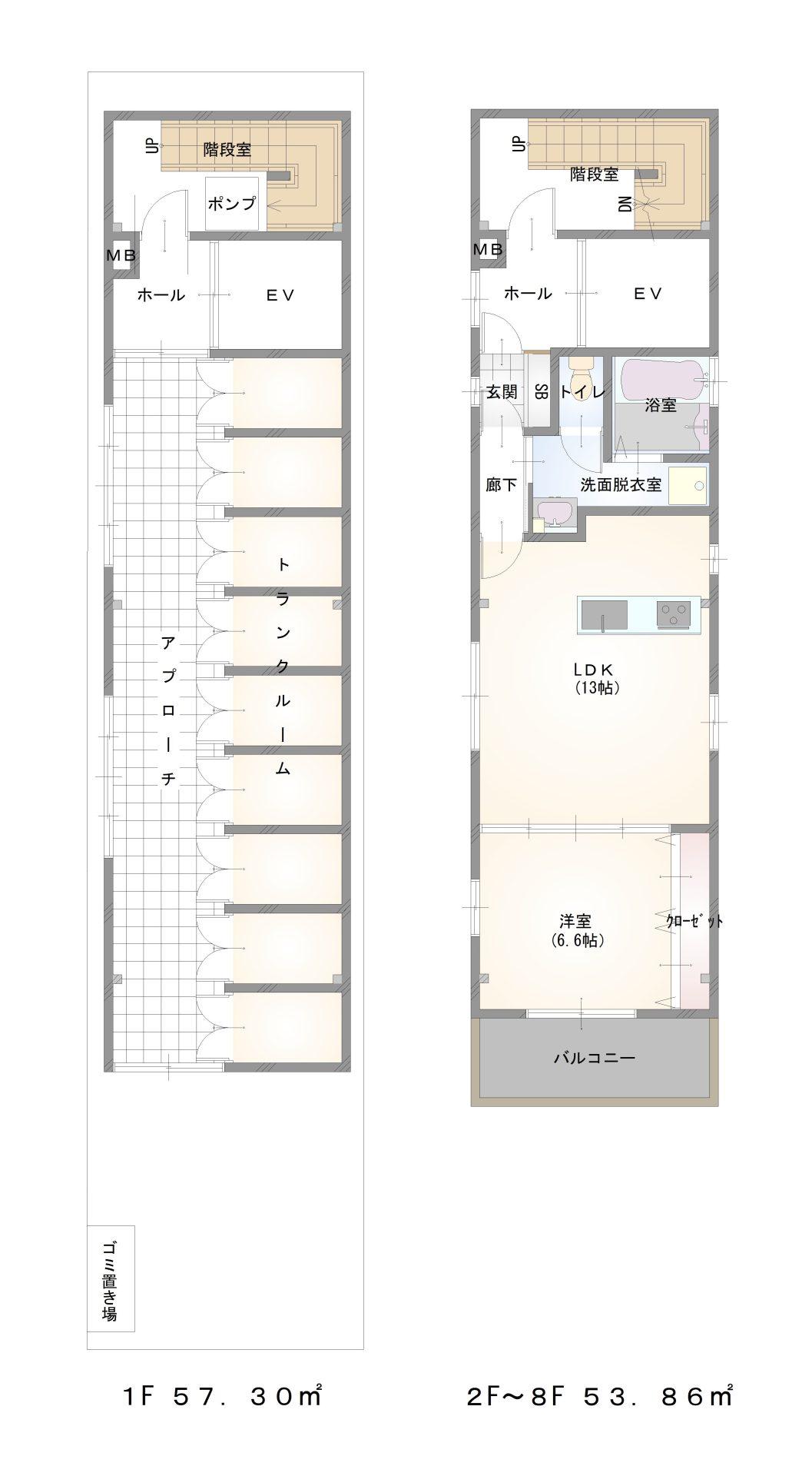 丸山通1 マンションプラン2